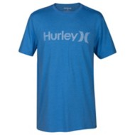 Men's Hurley Premium One And Only Push Through Short Sleeve Shirt