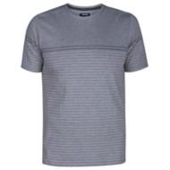 Men's Hurley Dri Fit Doheny Stripe Crew Short Sleeve Shirt