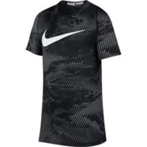 Grade School Boys' Nike Pro Graphic T-Shirt