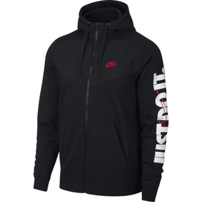 Men s Nike Sportswear Just Do It Full Zip Hoodie fbdc383fb532