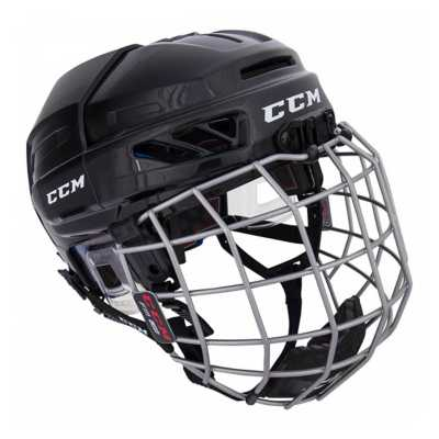 Junior CCM Fitlite 3DS Hockey Helmet Combo