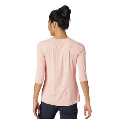 Women's Mountain Hardwear Crater Lake 3/4 Sleeve Shirt