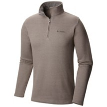 Men's Columbia Tall Great Hart Mountain III Long Sleeve 1/2 Zip