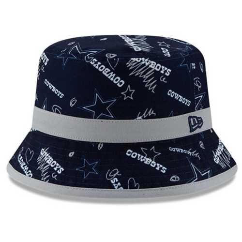 New Era Kids' Dallas Cowboys Craze Bucket Hat