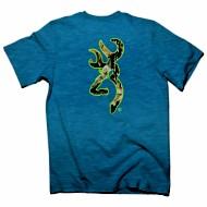 Men's Browning Mossy Oak Buckmark T-Shirt