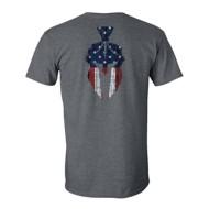 Men's Kryptek American Flag Spartan T-Shirt