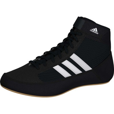 Grade School Boys' adidas HVC 2 Laceup Wrestling Shoes