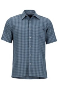 Men's Marmot Eldridge Button Down Short Sleeve Shirt