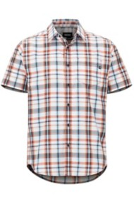 Men's Marmot Lykken Button Down Short Sleeve Shirt