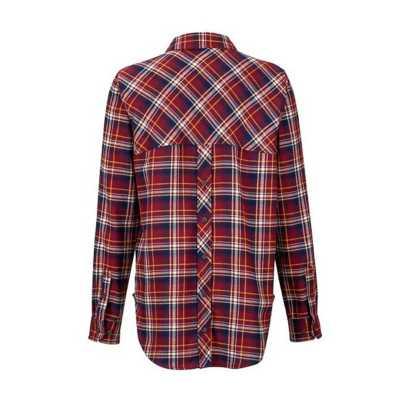 Women's Marmot Maggie Midweight Flannel Long Sleeve Shirt