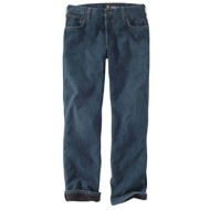 Men's Carhartt Relaxed Fit Holter Jean Fleece Lined