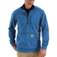 Men's CarharttForce Extremes Mock Neck Half-Zip Sweatshirt