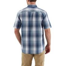 Men's Carhartt Essential Plaid Button Down Short Sleeve Shirt