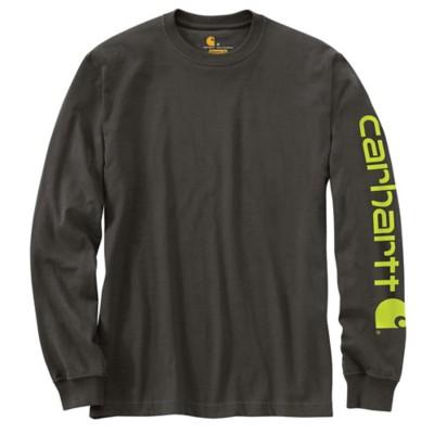 Men's Carhartt Signature Logo Long Sleeve T-Shirt