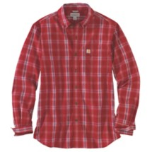 Men's Carhartt Essential Plaid Long Sleeve Shirt