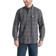 Men's Carhartt Ford Plaid Long Sleeve Shirt