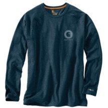Men's Carhartt Force Delmont Long Sleeve Graphic Tee
