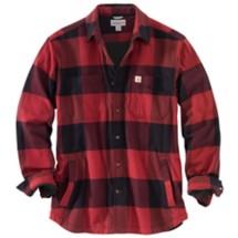 Men's Carhartt Rugged Flex Hamilton Fleece Lined Shirt