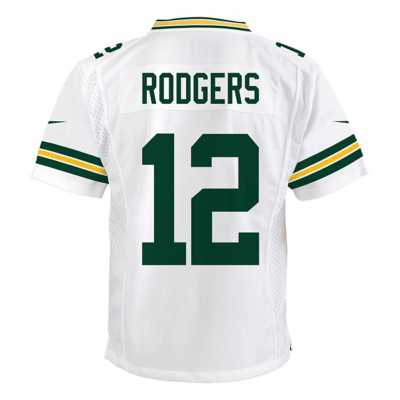 Kids' Nike Green Bay Packers Aaron Rodgers Color Rush Game Jersey