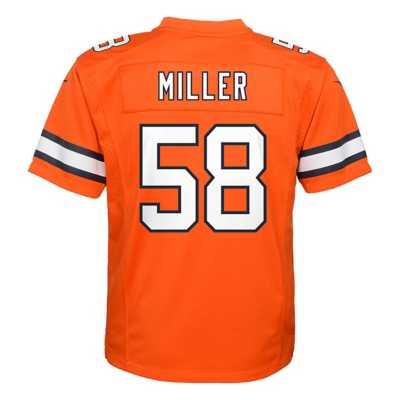 Kids' Nike Denver Broncos Von Miller Color Rush Game Jersey