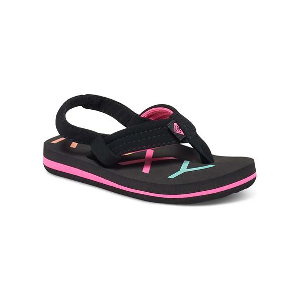 183947798308 Toddler Girls Roxy Vista II Flip Flops