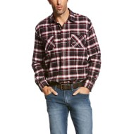 Men's Ariat Rebar Flannel DuraStretch Work Shirt Jesse