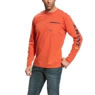 Men's Ariat Rebar Workman Logo T-Shirt