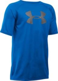 Youth Boys' Under Armour Big Logo Tech T-Shirt