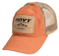Hoyt Leather Traditional Patch Hat