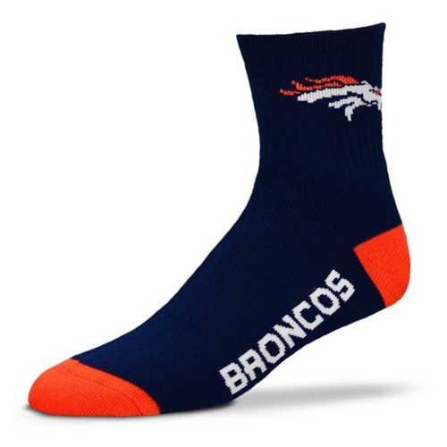 For Bare Feet Denver Broncos Team Crew Socks