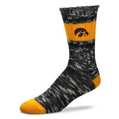 For Bare Feet Iowa Hawkeyes Alpine Crew Socks