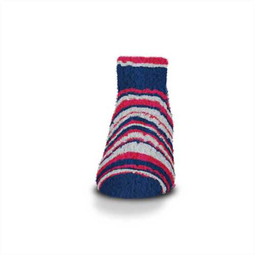 For Bare Feet New England Patriots Muchas Rayas Ankle Socks