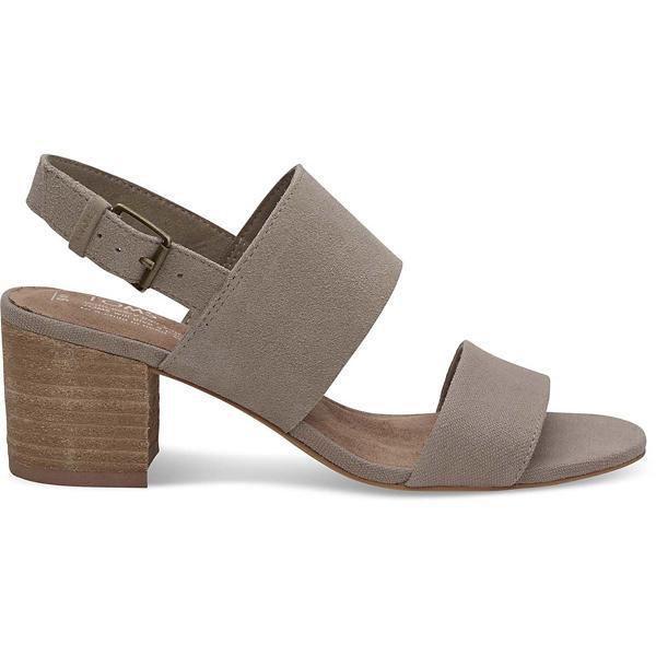 2c758a2134e Womens TOMS Poppy Heeled Sandal