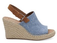 Womens TOMS Monica Wedges