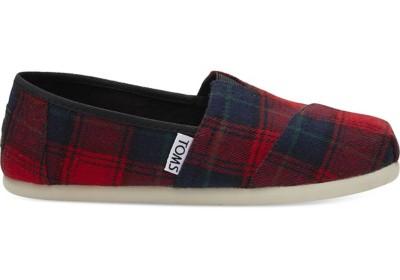 Grade School Girls' Toms Alpargata Slip On Shoes