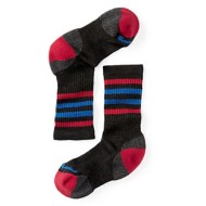 Youth Smartwool Striped Hike Light Crew Socks