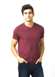 Men's prAna V-Neck Short Sleeve Shirt