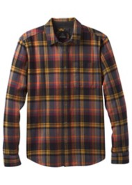 Men's prAna Woodman Lightweight Flannel Long Sleeve Shirt