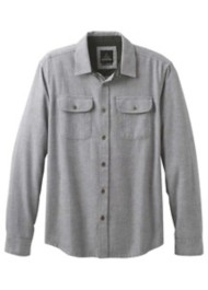 Men's prAna Lybeck Midweight Flannel Long Sleeve Shirt
