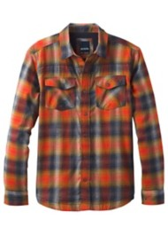 Men's prAna Asylum Heavyweight Flannel Long Sleeve Shirt