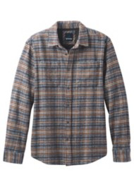 Men's prAna Brayden Heavyweight Flannel Long Sleeve Shirt