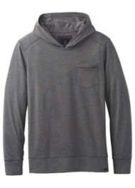 Men's prAna Pacer Hooded Long Sleeve Shirt