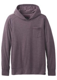 Men's prAna Pacer Hooded Long Sleeve Shirt
