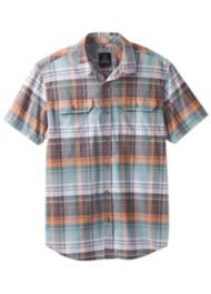 Men's prAna Cayman Plaid Short Sleeve Shirt