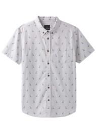 Men's prAna Broderick Embroidery Short Sleeve Shirt