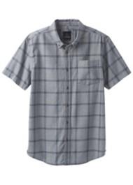 Men's prAna Broderick Window Pane Short Sleeve Shirt