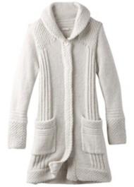 Women's prAna ELong Sleeve Shirtin Sweater Coat