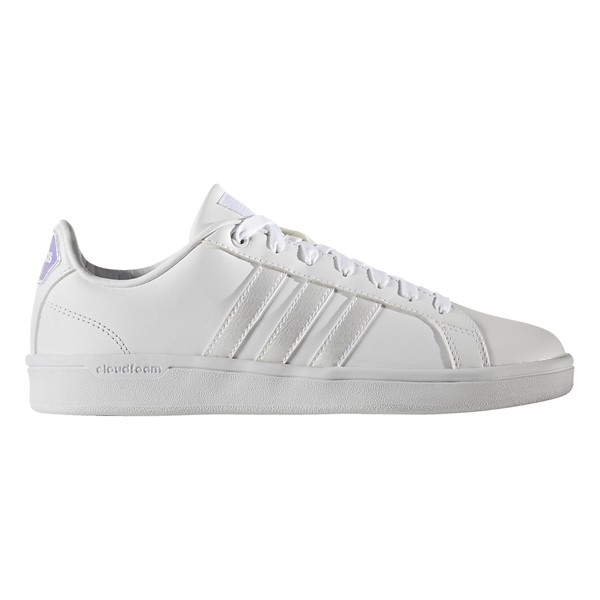 adidas neo cloudfoam advantage stripe women's shoes