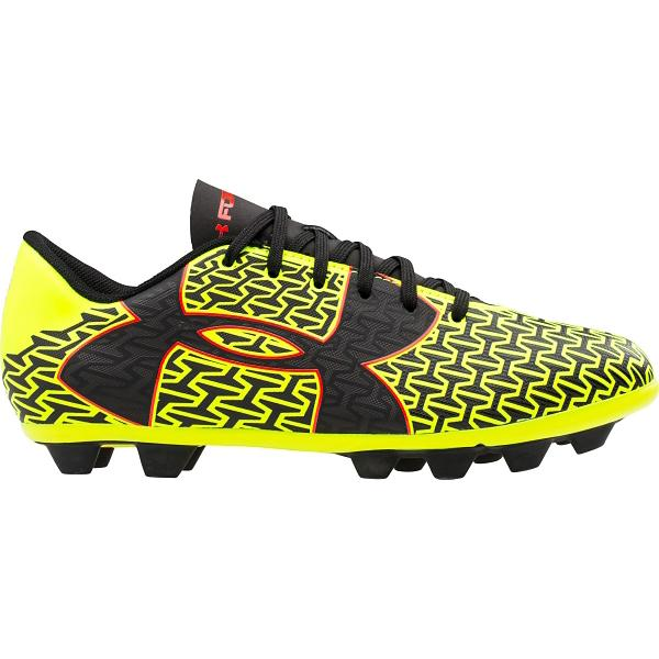 UA ClutchFit Force 2.0 HG Jr Boys/' Soccer Cleat