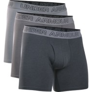 "Men's Under Armour Charged Cotton Stretch 6"" 3-Pack Boxerjock"